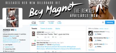 50 Musisi Terpopuler di Twitter 2016, Agnez Mo ke 39
