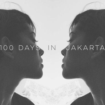 kina grannis 100 days stuck in Jakarta Indonesia