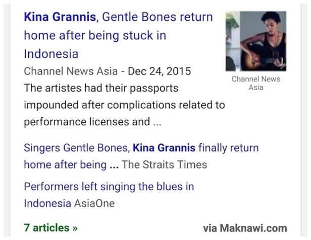 Gentle Bones dan Musisi Amerika Kina Grannis Tertahan 100 Hari di Indonesia