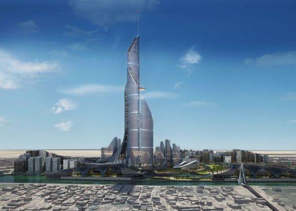 Setinggi 1.152 Meter, Ini Desain Gedung Tertinggi di Dunia