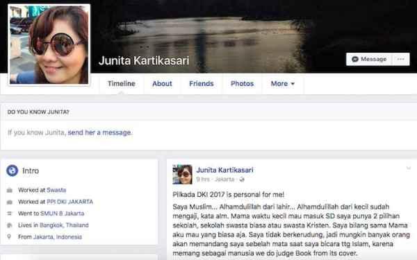 Viral, Curahan Hati Pendukung Ahok-Djarot Setelah Pilkada