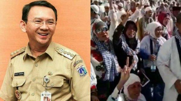 Dukungan dari Mekkah untuk Ahok yang Dipenjara